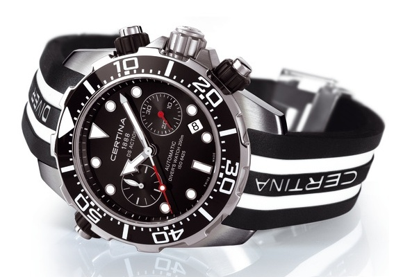 Certina DS Action Diver Chronograph - test nadgarstkowy